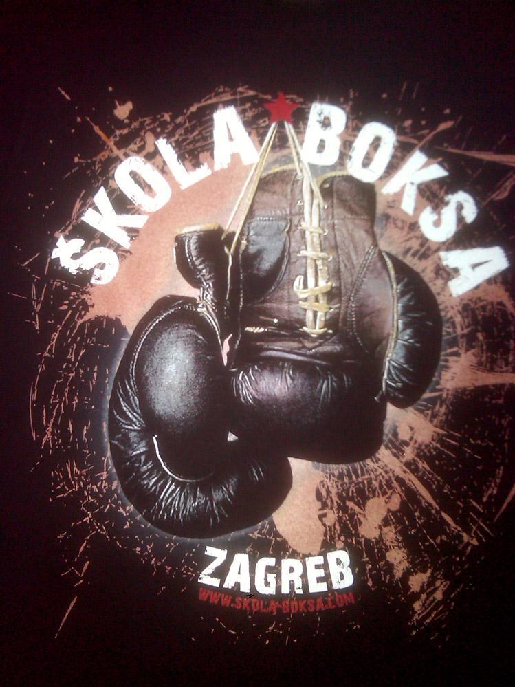 Škola boksa Zagreb T-SHIRT
